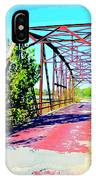 Old Ozark Trail Bridge IPhone Case