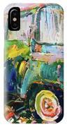 Old Paint Car IPhone Case