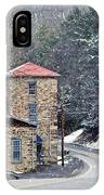 Old Paint Mill Winter Time IPhone Case