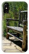 Old Park Bench IPhone Case