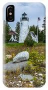 Old Presque Isle Lighthouse IPhone X Case