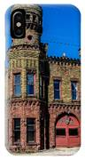 Old Racine Fire Station IPhone Case