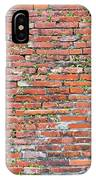 Old Red Brick Wall IPhone Case