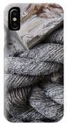 Old Ropes On Dock IPhone Case