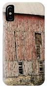 Old Rugged Barn #2 IPhone Case
