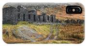 Old Ruin At Cwmorthin IPhone X Case