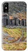 Old Ruin At Cwmorthin IPhone Case