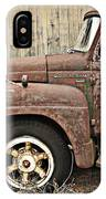 Old Rust Truck IPhone Case