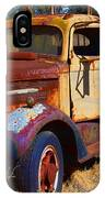 Old Rusting Flatbed Truck IPhone Case