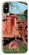Old Rusty Tractors IPhone Case