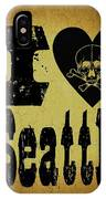 Old Seattle IPhone Case