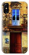Old Semidetached Houses IPhone Case