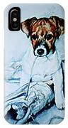 Old Shoe Pup IPhone Case