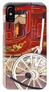 Old Stagecoach - Wells Fargo Inc. IPhone Case