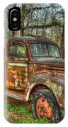 Old Still Art 1947 Ford Stakebed Pickup Truck Ar IPhone Case