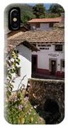 Old Stone Bridge In Historic Hillside Village Of San Sebastian D IPhone Case