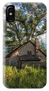 Old Stone Ranch Structure IPhone Case