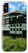 Old Street Car In Upstate New York IPhone Case