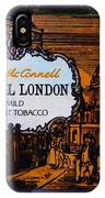 Old Tobacco Tin IPhone Case