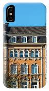 old Town buildings in Aachen, Germany IPhone Case