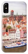 Old Town Gdansk IPhone Case