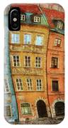 Old Town In Warsaw # 32 IPhone Case
