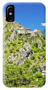 Old Town Knin On The Rock View IPhone Case