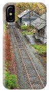 Old Train Station Norwich Vermont IPhone Case