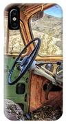 Old Truck Interior Nevada Desert IPhone X Case
