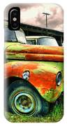 Old Trucks In A Row IPhone Case