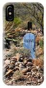 Old Tucson Graveyard IPhone Case
