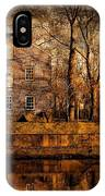 Old Village - Allaire State Park IPhone Case