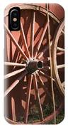 Old Wagon Wheels IPhone Case