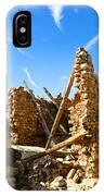 Old Walls Fallen IPhone Case