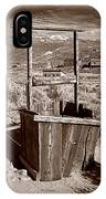 Old Well Bodie Ghost Twon California IPhone Case