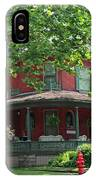 Old West End Red 2 IPhone Case