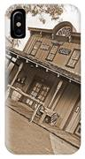 Old Western Town IPhone Case