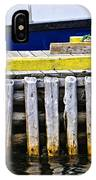 Old Wooden Pier In Newfoundland IPhone Case