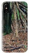 Old Woodland Hide. IPhone Case