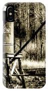 Old Wooten IPhone Case