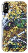Old Yellow Birch IPhone Case