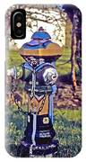 Oldenburg Fireplug IPhone Case