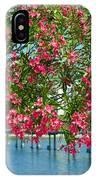 Oleander On Melbourne Harbor In Florida IPhone Case