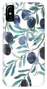 Olive Watercolor 2018 IPhone Case