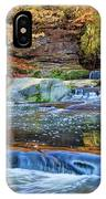 Olmsted Waterfalls IPhone Case