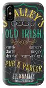 O'malley's Old Irish Pub IPhone Case