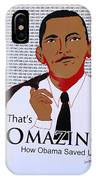 Omazing Obama 1.0 IPhone Case