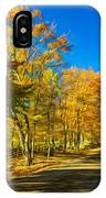 On A Country Road 4 - Paint IPhone Case