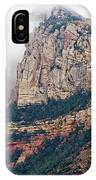 On A Misty Day IPhone Case