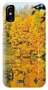 On Golden Pond 2 IPhone Case